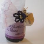 Confettura confezionata con fiore Camari dallo Sri